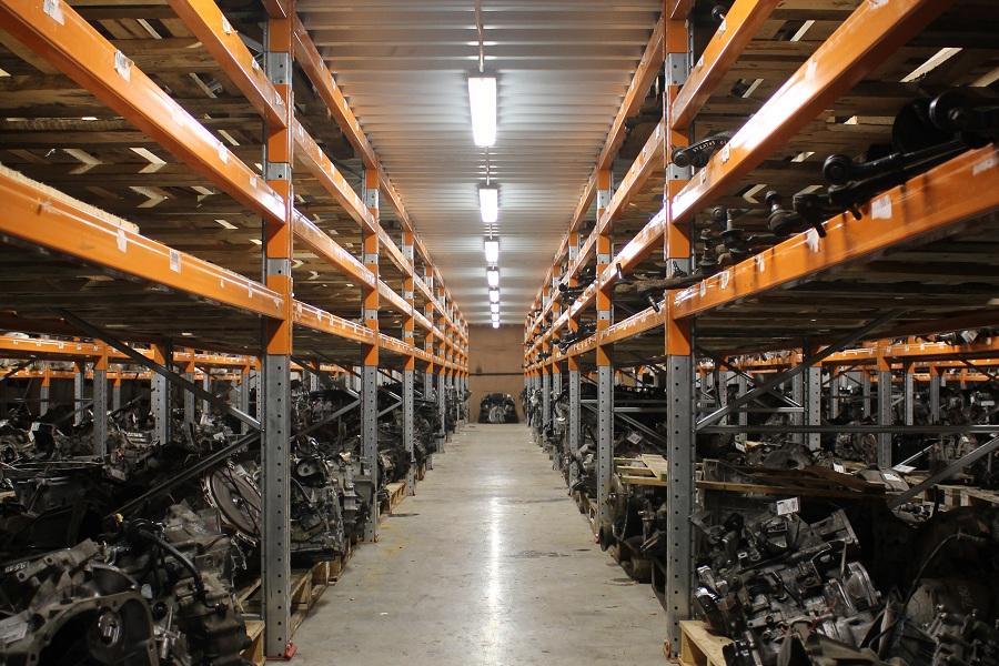 Освещение склада автозапчастей СТО Автошкипер
