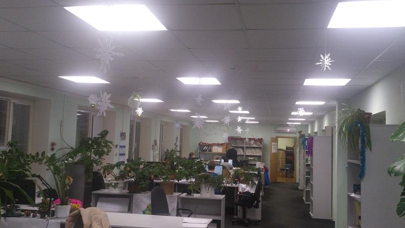 Светодиодное освещение Ладожского Транспортного Завода