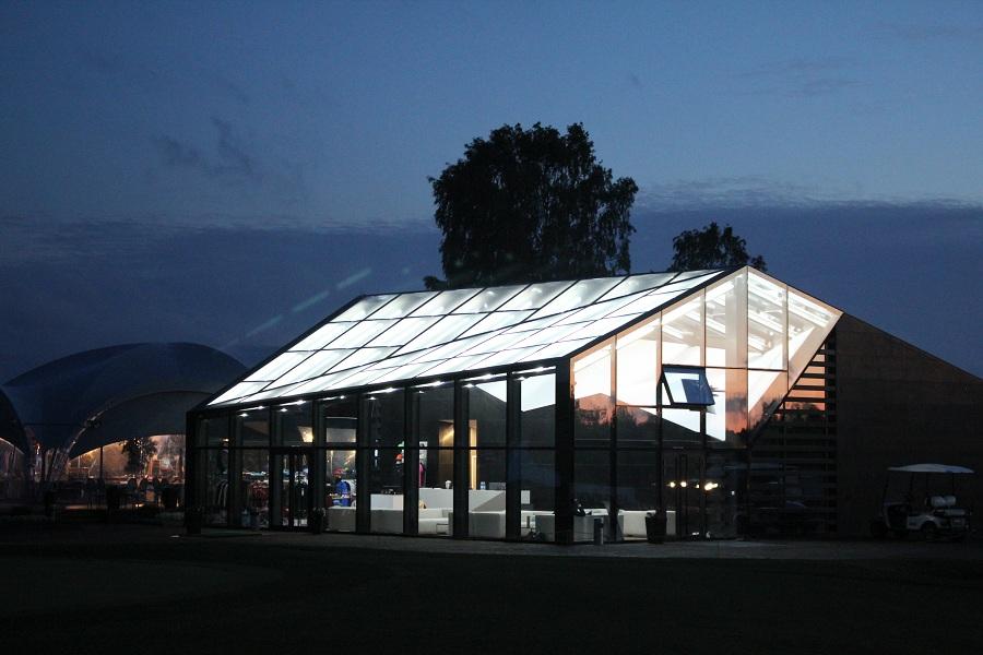 Освещение гольф-клуба от компании Триалайт