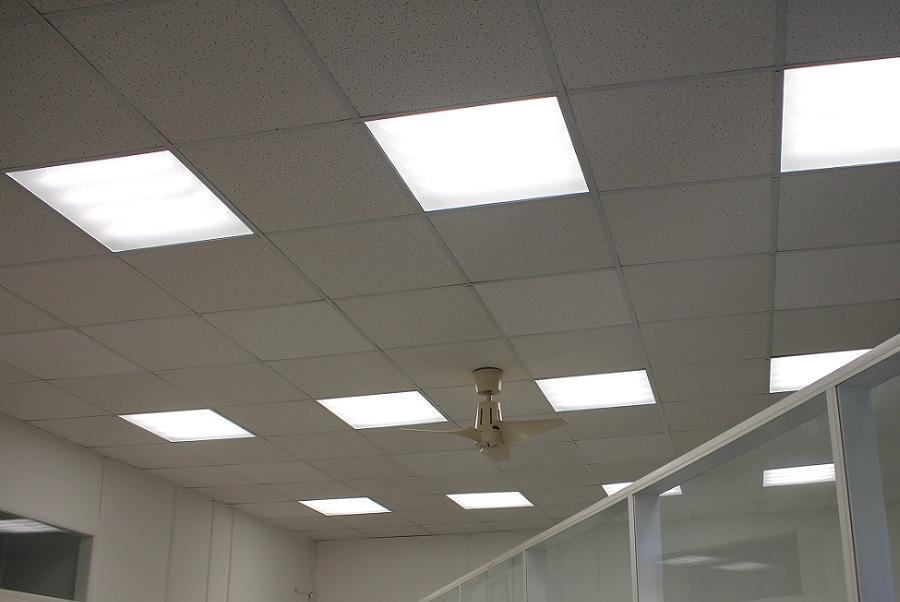 Светодиодное освещения офиса нотариальной конторы